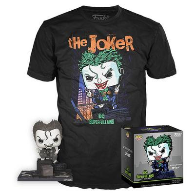 POP! and Tee: The Joker by Jim Lee T-Shirt
