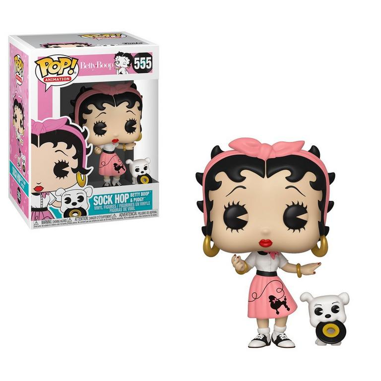 POP! Animation: Betty Boop Sock Hop Betty Boop and Pudgy