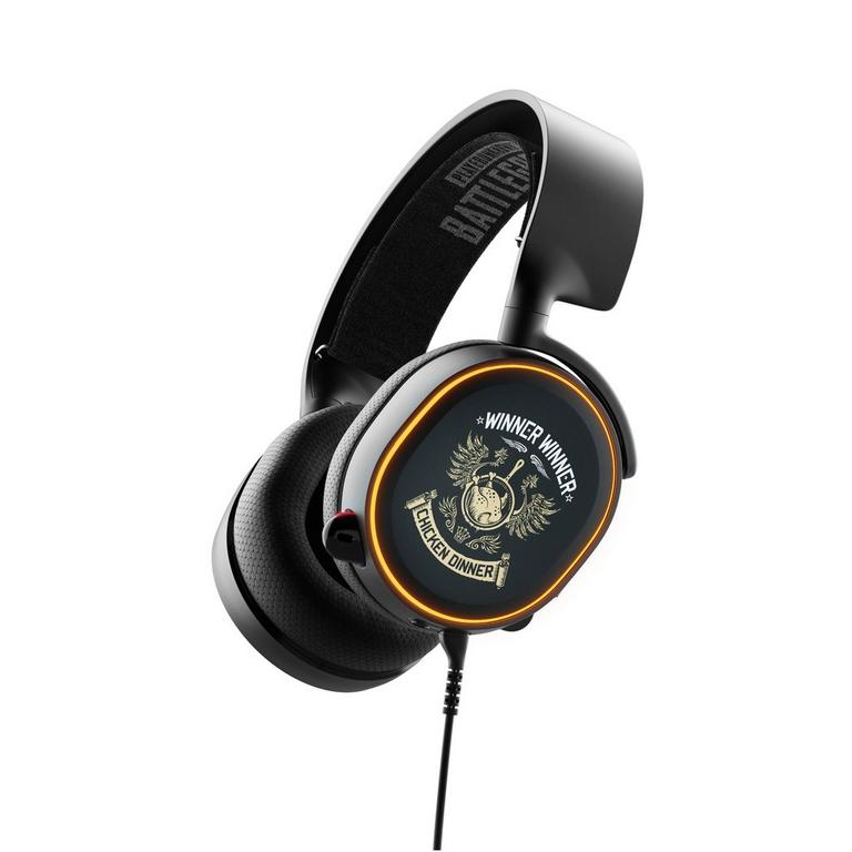 SteelSeries Arctis 5 Over-Ear PUBG Edition Wired Gaming Headset