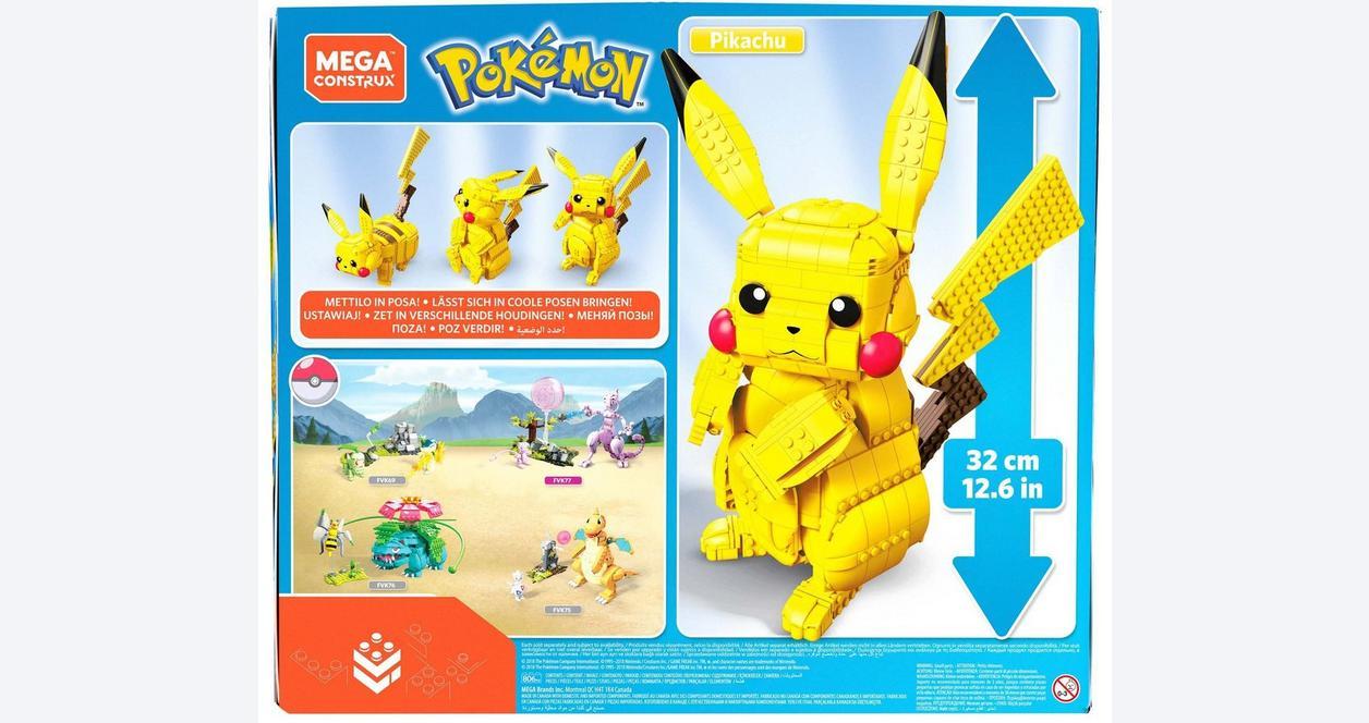 Pokemon Jumbo Pikachu Mega Construx