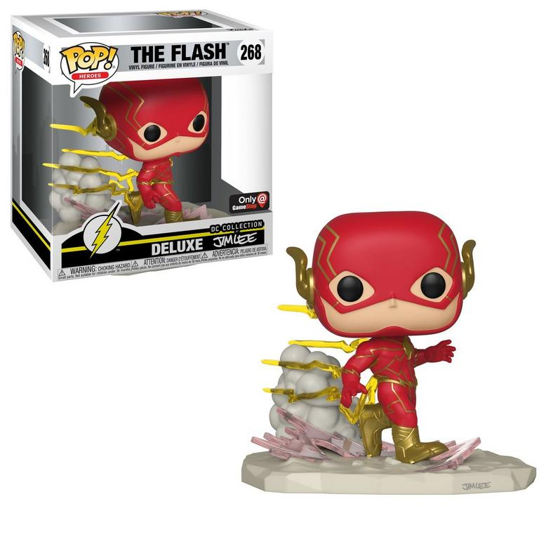 POP! Heroes: The Flash Deluxe Jim Lee Collection Only at GameStop