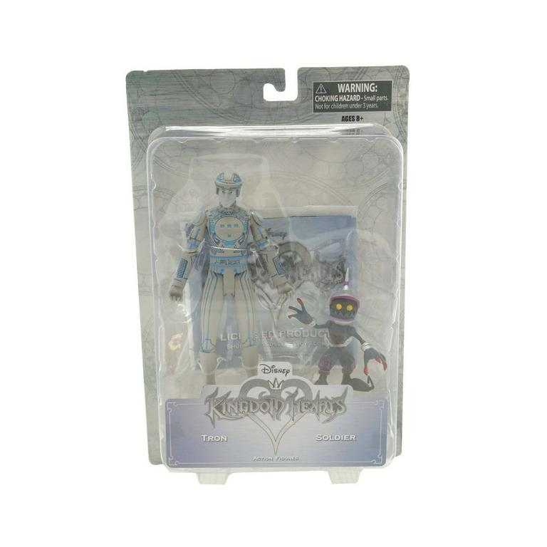 Kingdom Hearts 2 Tron and Solider Heartless Action Figure 2 Pack