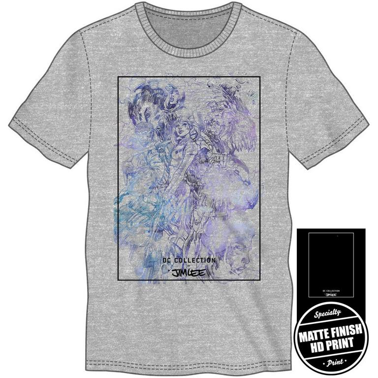 Jim Lee Gray T-Shirt