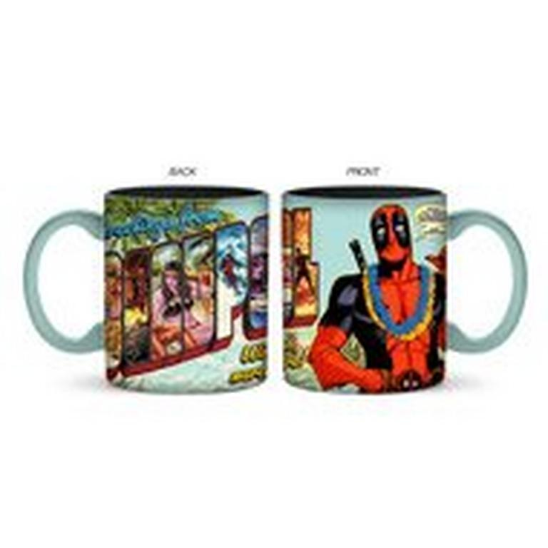 Deadpool Travel Greetings Mug