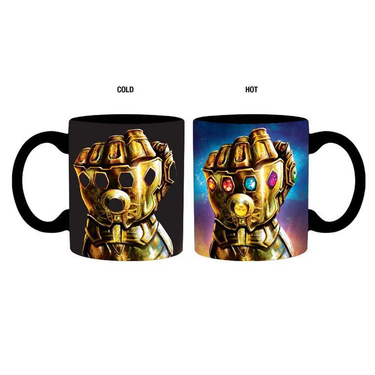 Marvel Infinity Gauntlet Heat Change Mug