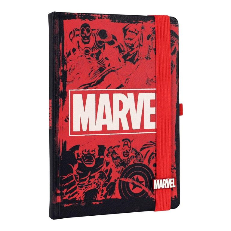 Marvel Logo Journal