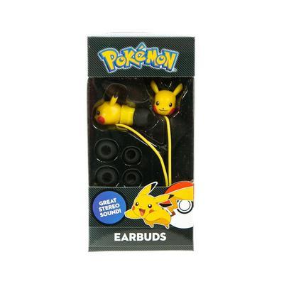 Pokemon Pikachu Molded Earbuds