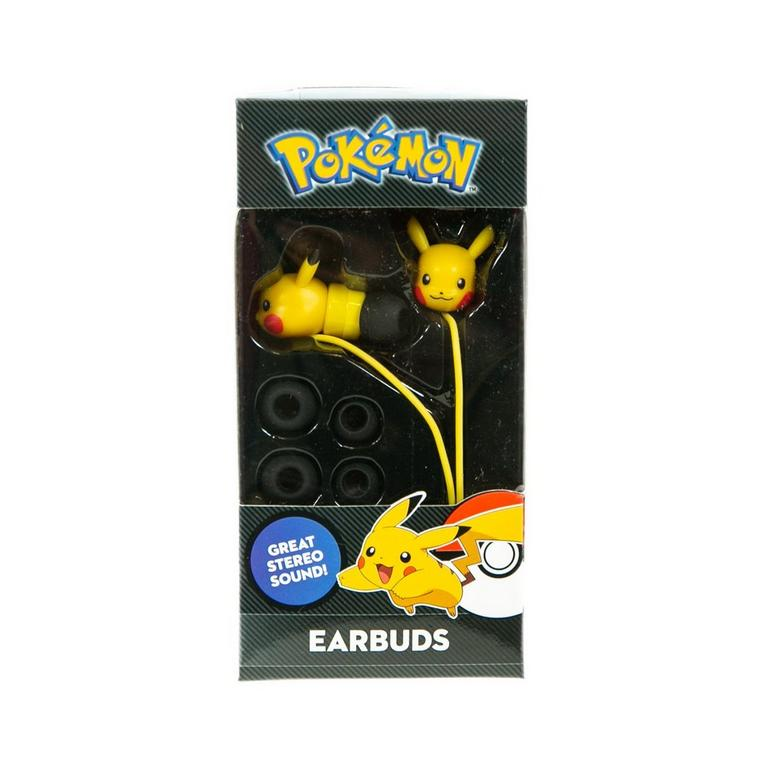 Pokemon Pikachu Molded Earbuds
