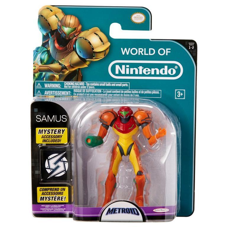 Metroid Samus World of Nintendo Action Figure