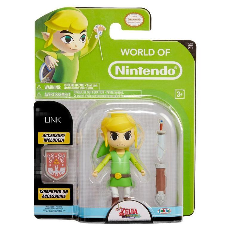 The Legend of Zelda: The Wind Waker World of Nintendo Link Action Figure