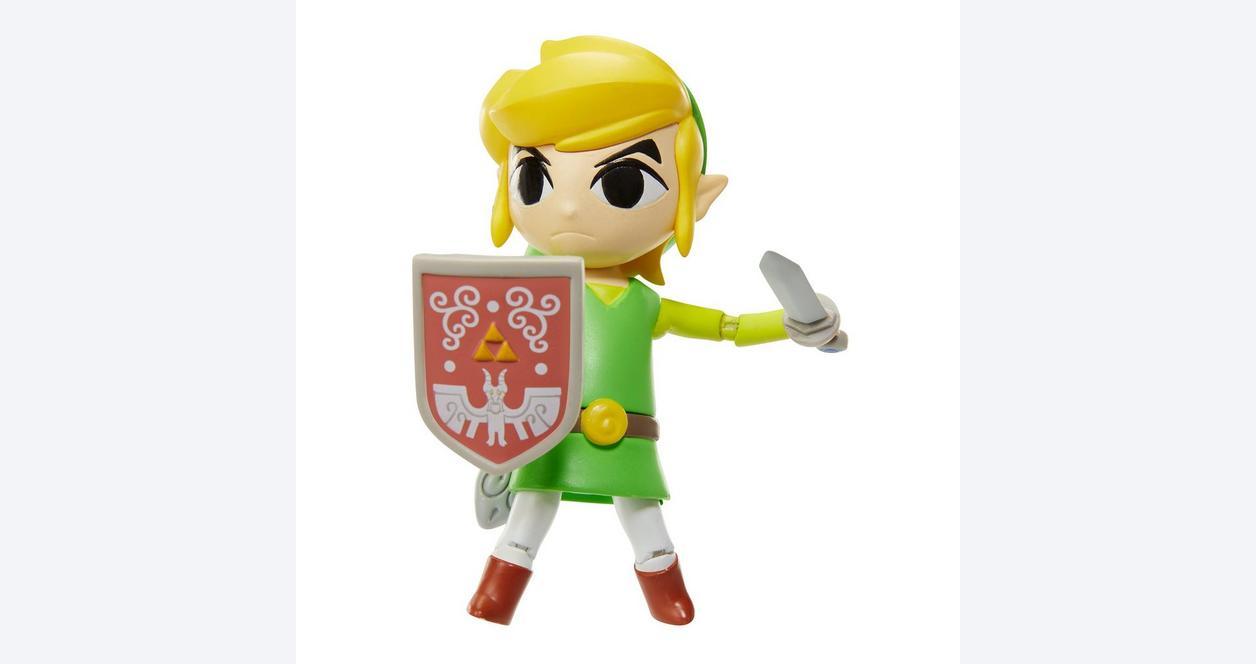 The Legend of Zelda: Wind Waker World of Nintendo Link Action Figure