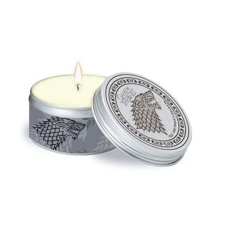 Game of Thrones House Stark Frosted Pine Scented Candle 5.6 oz.