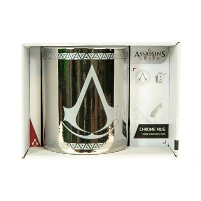 Assassins Creed Logo Chrome Mug