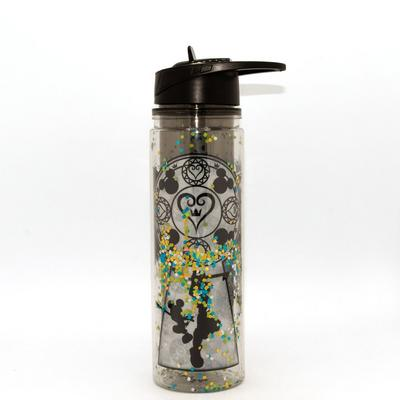 Kingdom Hearts Confetti Glitter Water Bottle