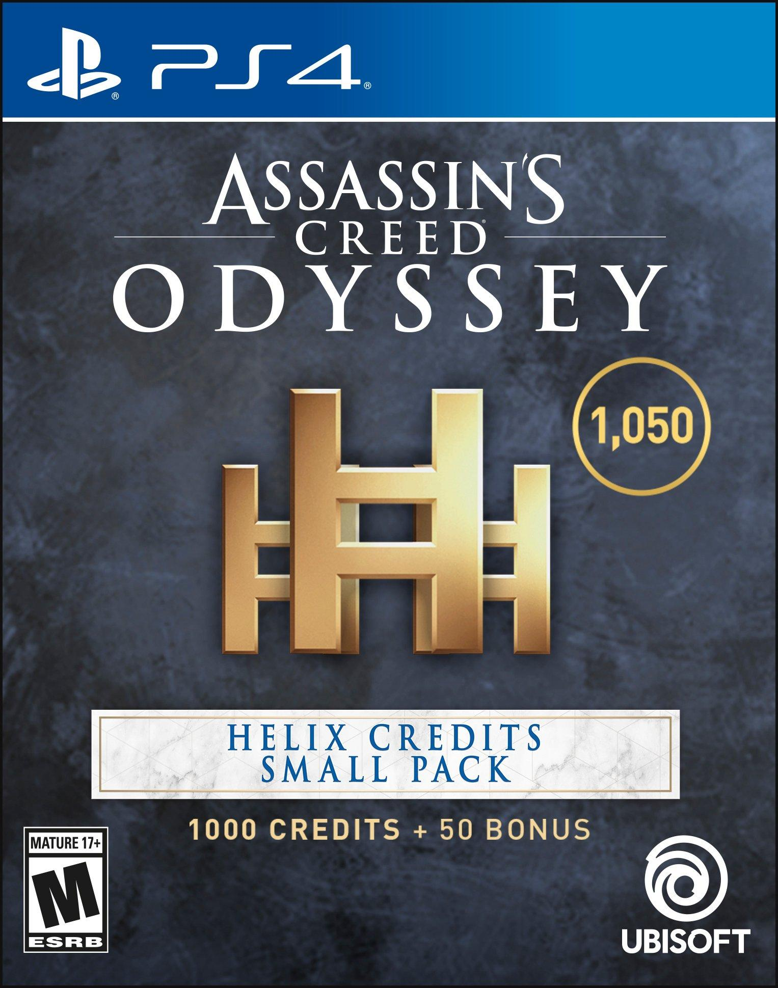Assassin S Creed Odyssey Helix Credits Small Pack Playstation 4 Gamestop