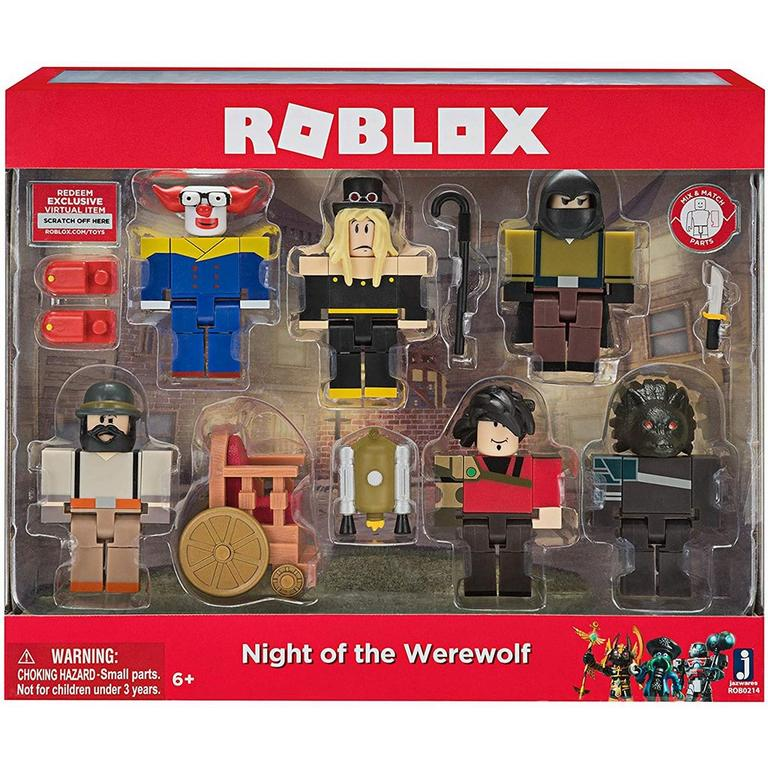 ROBLOX Night of the Werewolf Figure Multipack