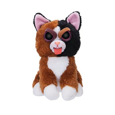 Feisty Pets Mary Monstertruck Calico Cat Tongue Plush