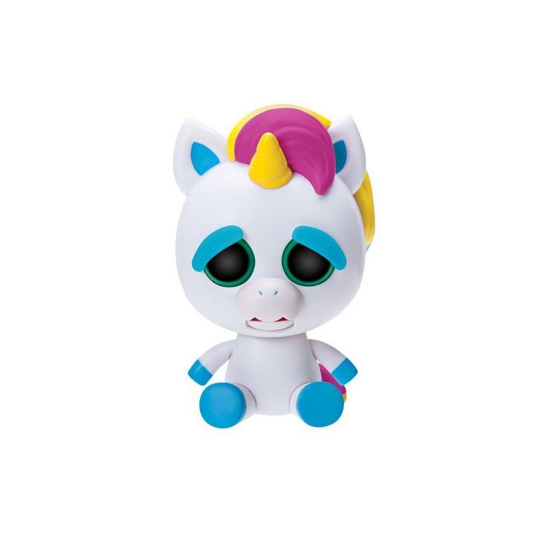 Feisty Pets Paranoid Prisma Rainbow Unicorn Figure - Only at GameStop