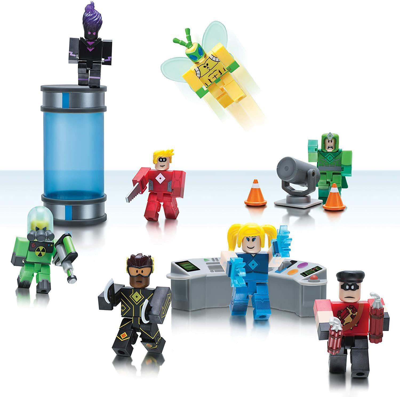 Roblox Heroes Of Robloxia Action Figure Set Gamestop