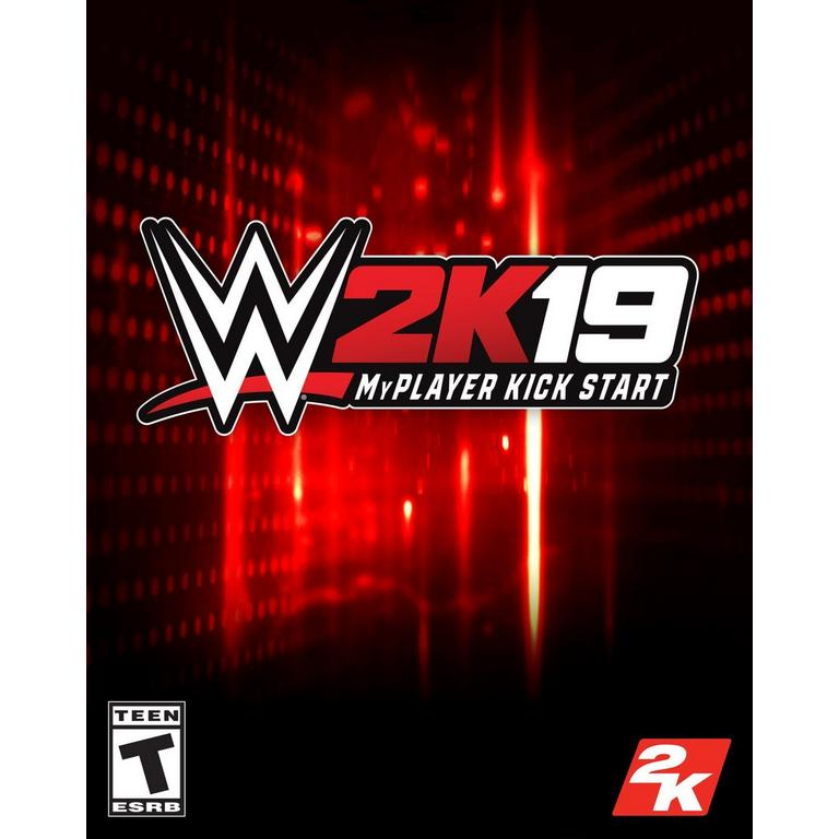 WWE 2K19 MyPlayer Kick Start