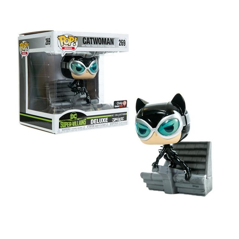 Funko POP! Heroes: DC Super-Villains Deluxe Jim Lee Collection Catwoman Only at GameStop