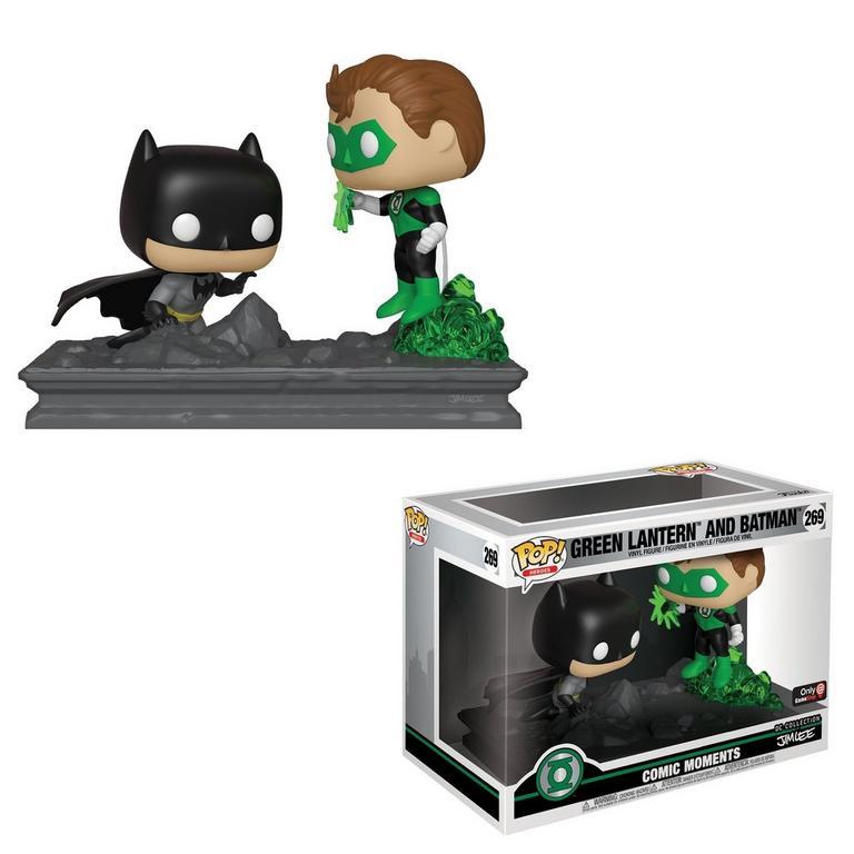 Funko POP! Comic Moments: Green Lantern and Batman by Jim Lee
