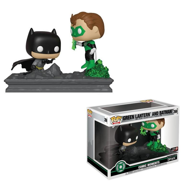POP! Comic Moments: Green Lantern and Batman by Jim Lee