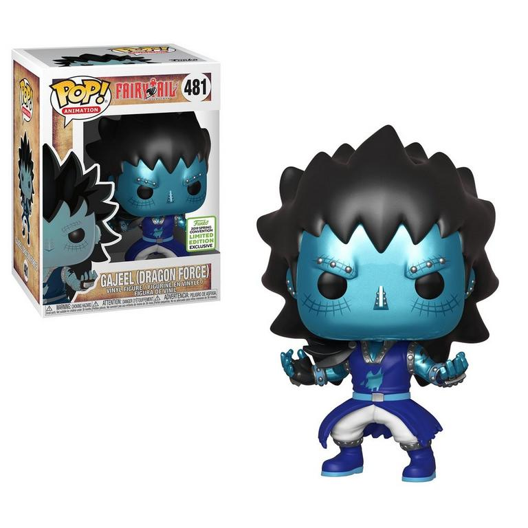 POP! Animation: Fairy Tail Gajeel Dragon Force Spring Convention 2019