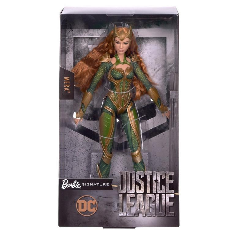 Justice League Mera Royal Gown Barbie Doll