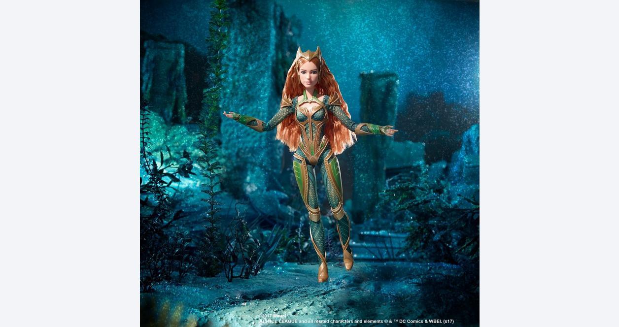 Barbie: AQUAMAN Royal Gown MERA Doll