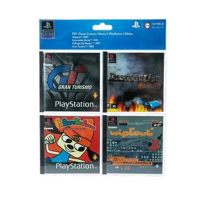 PlayStation 1 Video Game Coasters