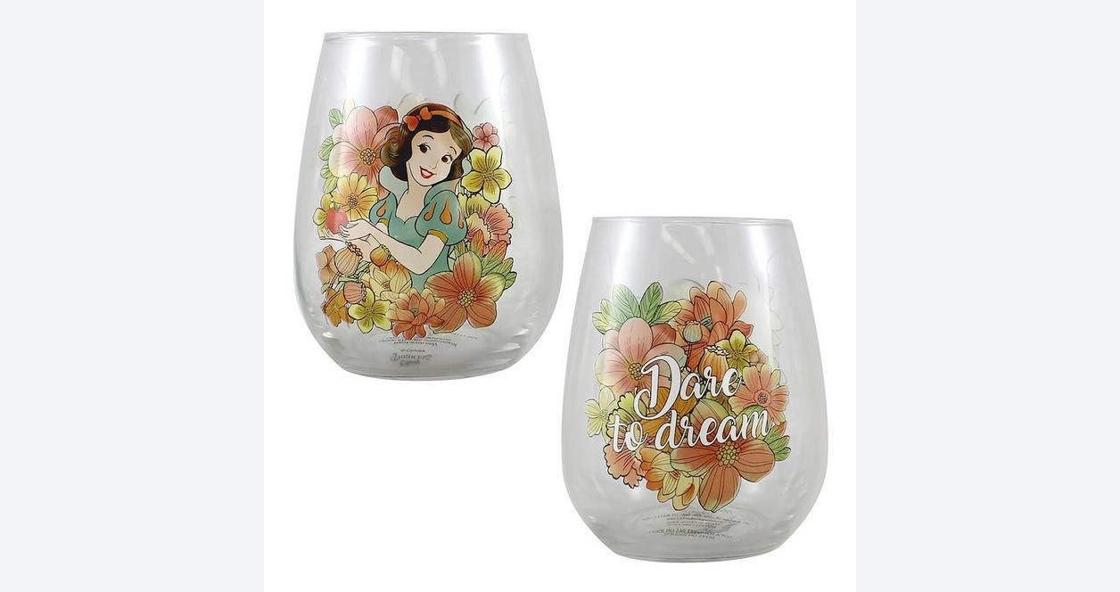 Disney Princess Glass Set 4 Pack