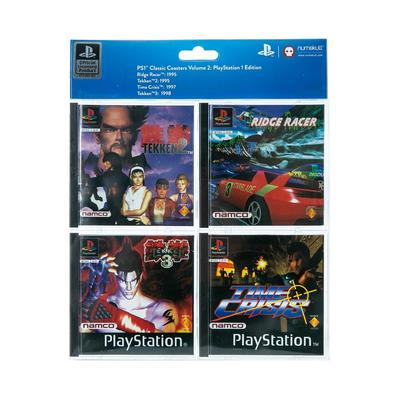 PlayStation 1 Namco Games Coasters
