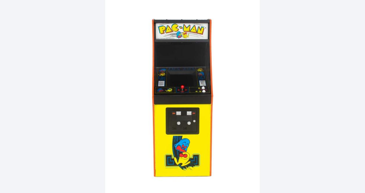 Pac-Man Quarter Arcade Machine