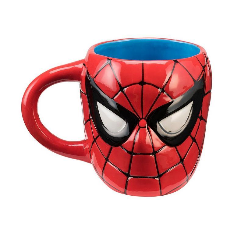 Spider-Man Head Sculpted Mug