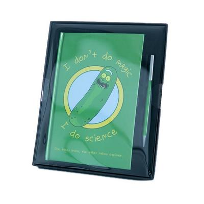 Rick and Morty Pickle Rick Journal Set
