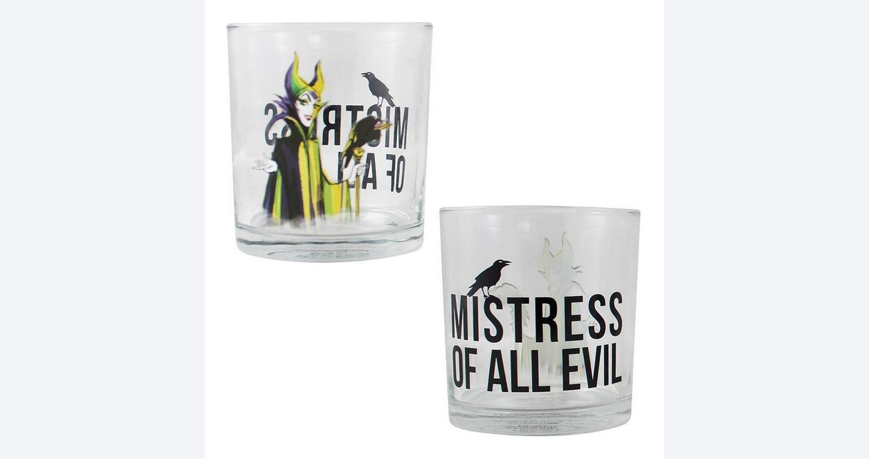Disney Villains Glass Set 4 Pack