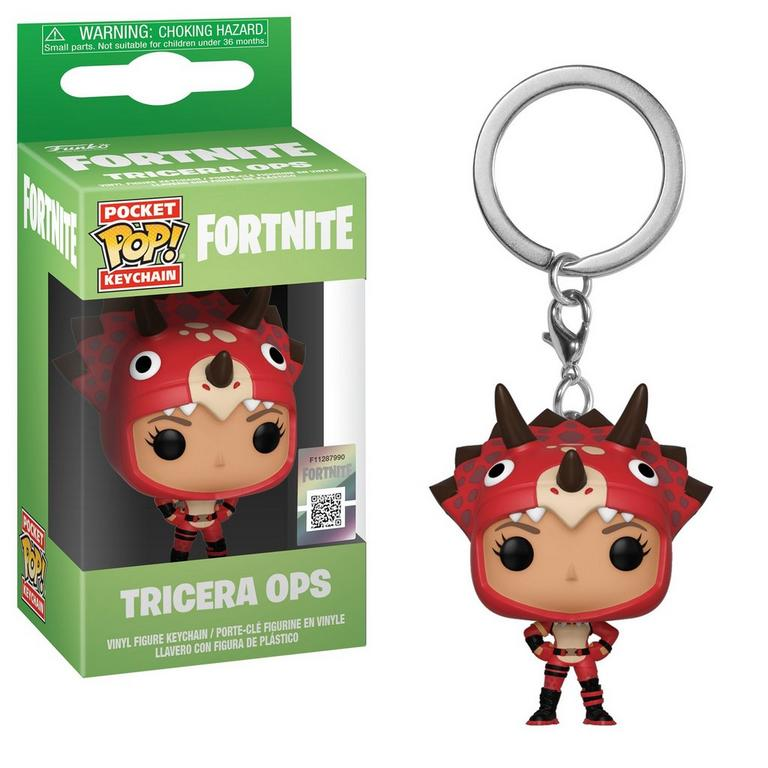 Pocket POP!: Fortnite - Tricera Ops Keychain