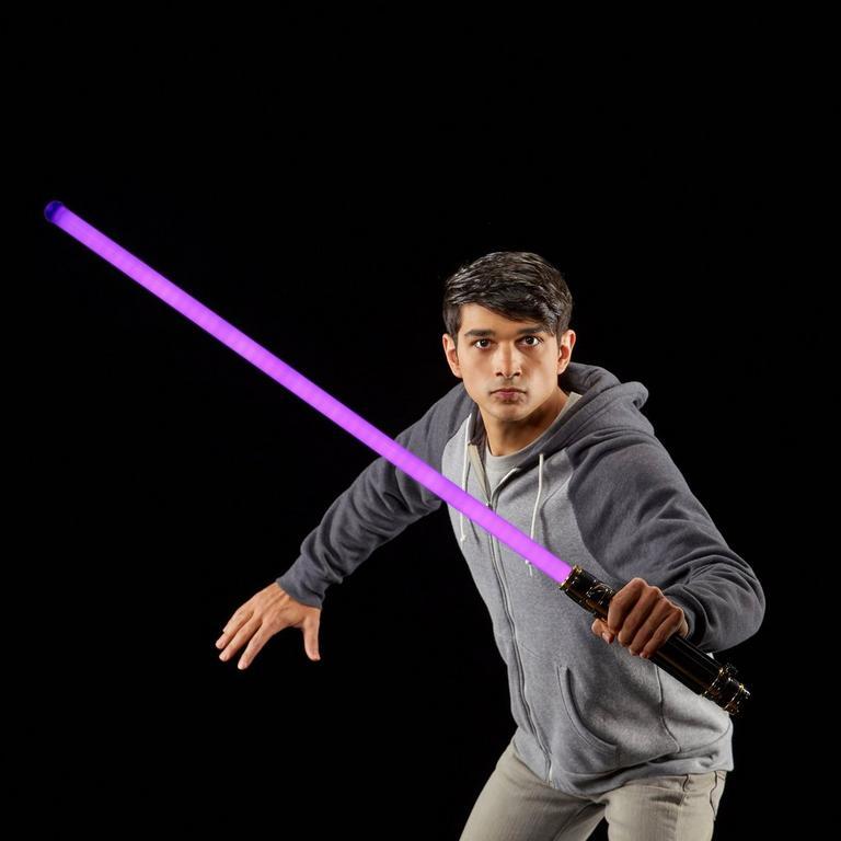 Star Wars Episode Iii Revenge Of The Sith Mace Windu Force Fx Lightsaber Gamestop