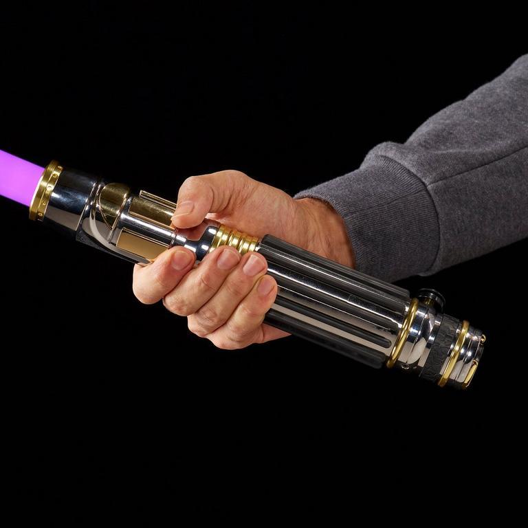 Star Wars Episode III: Revenge of the Sith Mace Windu Force FX Lightsaber