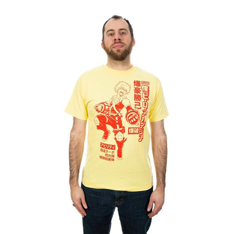My Hero Academia Bakugo Kanji T-Shirt - Small