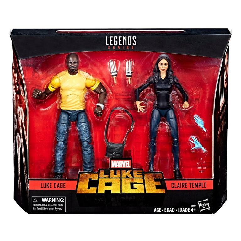 Marvel Legends Series Luke Cage and Claire Temple Action Figure 2 Pack