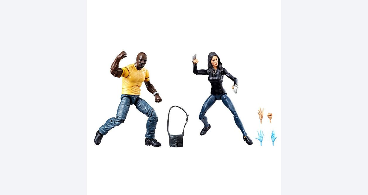Marvel Legends: 2 Pack Luke Cage & Claire Temple Action Figures