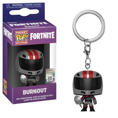 Pocket POP!: Fortnite - Burnout Keychain