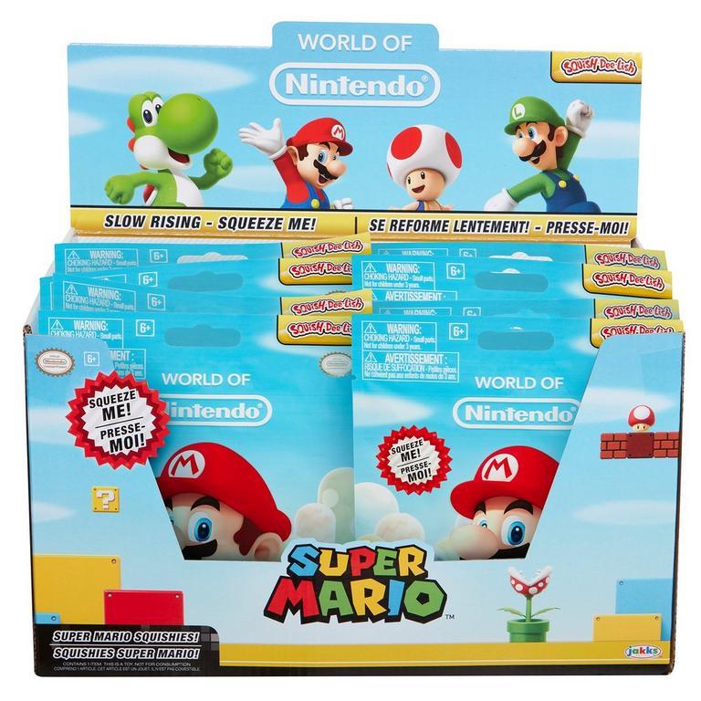 Nintendo Squish Dee Lish Wave 2 (Blind Box)