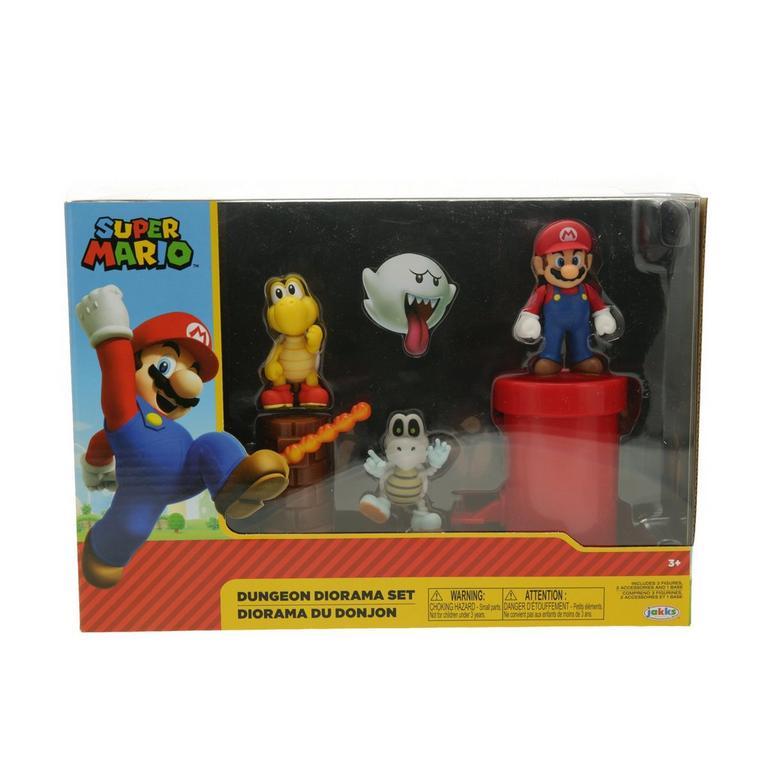 Super Mario Bros. Dungeon Diorama Set