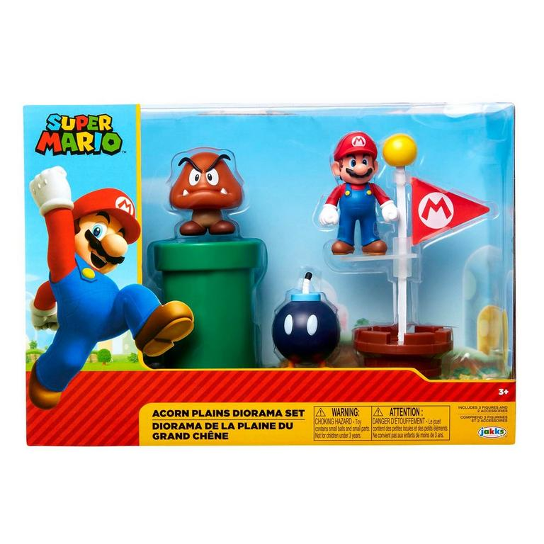 Super Mario Bros. Acorn Plains Diorama Set
