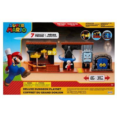 Super Mario Dungeon Deluxe Playset