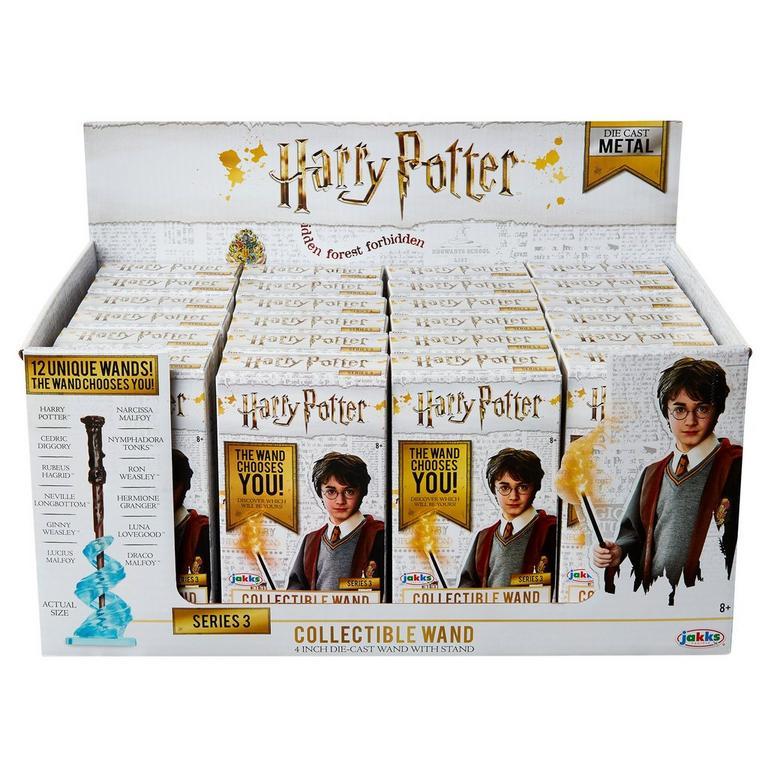 Harry Potter Series 3 Die-Cast Wand Blind Box Figure