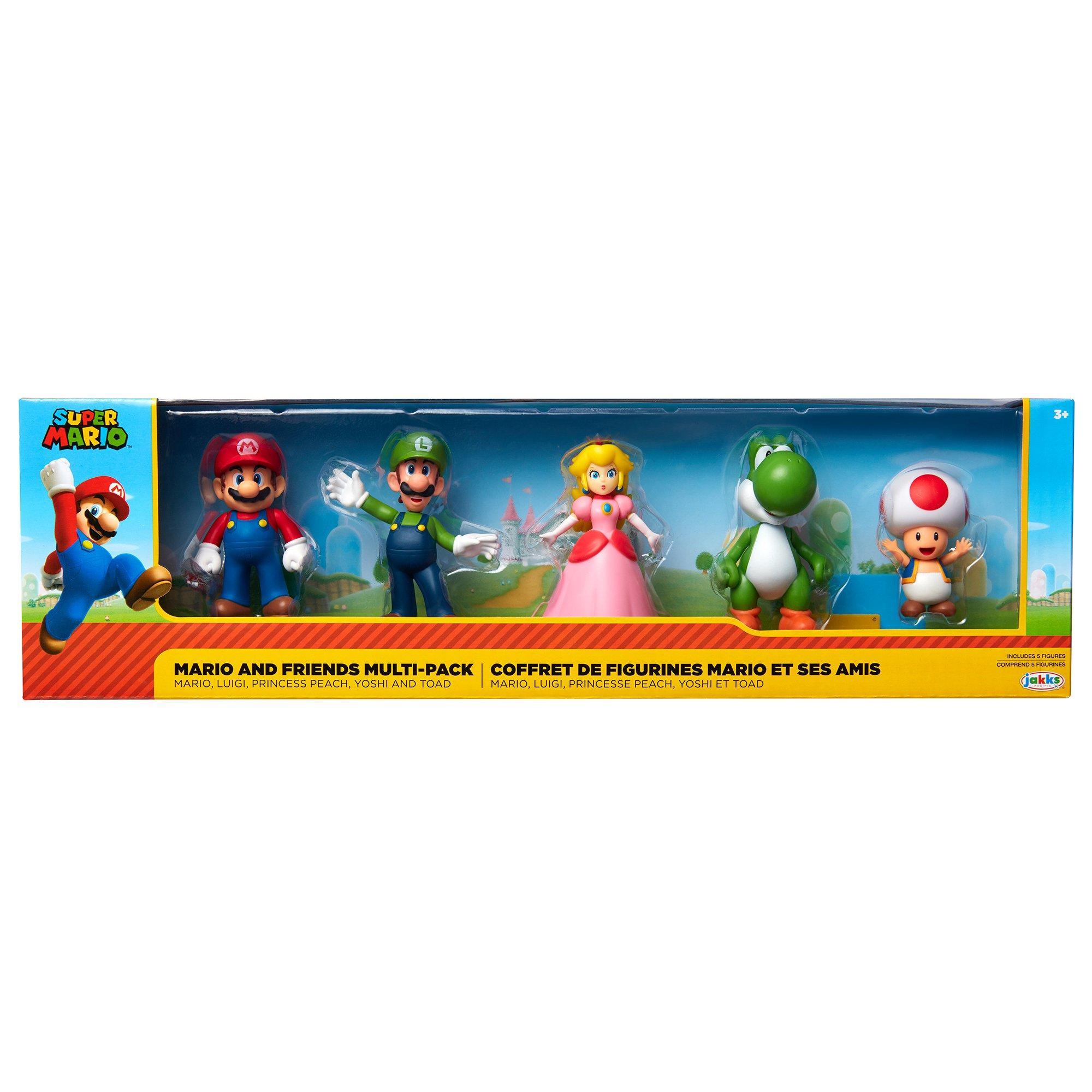 Super Mario Bros Mario And Friends Multi Pack Action Figures